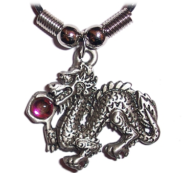 Pewter Dragon Pendant (cp_dragon_e)