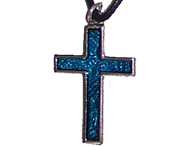 Pewter Cross Pendant (cx1t)
