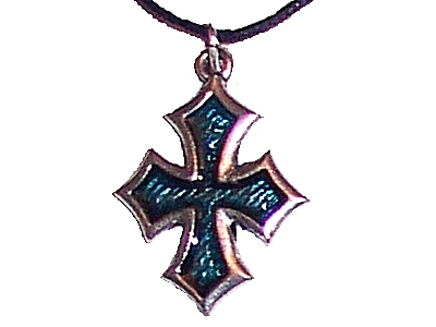 Pewter Cross Pendant (cx4t)
