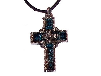 Pewter Cross Pendant (cx5t)