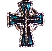 Pewter Cross Pendant (cx8t)