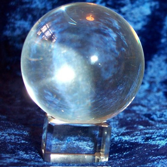 60mm Crystal Ball with glass stand and gift box