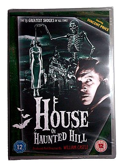 The House On Haunted Hill (DVD - PAL Region 2)