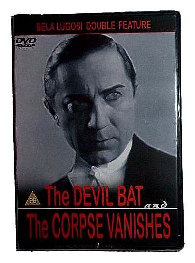 The Devil Bat and The Corpse Vanishes Double Bill (DVD - PAL All