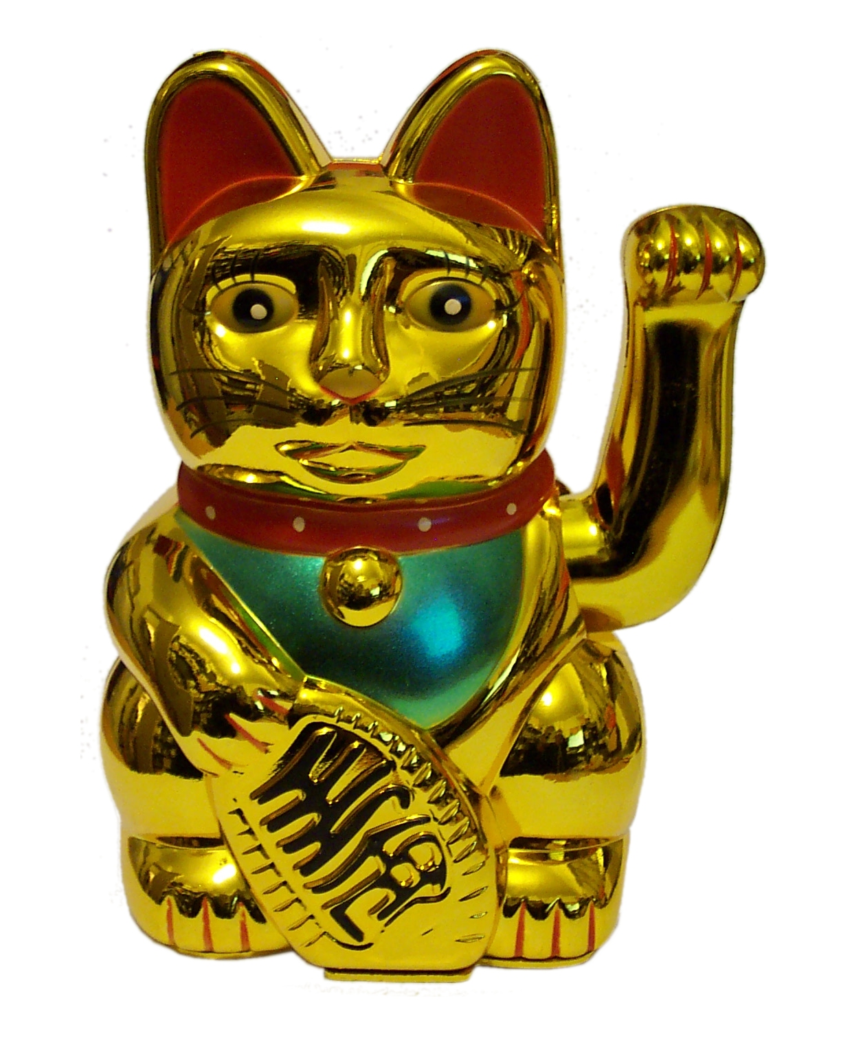 LUCKY MONEY CAT with waving paw (battery operated)