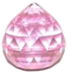 Pink Rainbow Sphere (20mm)