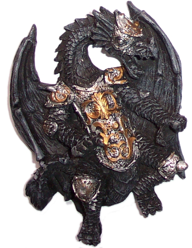 Dragon Fridge Magnet (C)