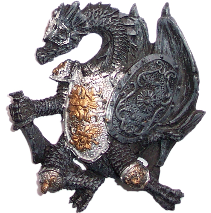 Dragon Fridge Magnet (d)