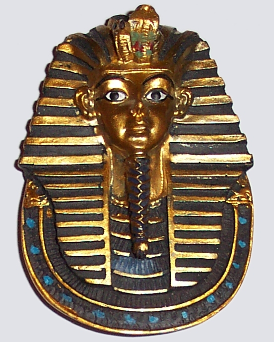 Tutankhamun Egyptian Fridge Magnet