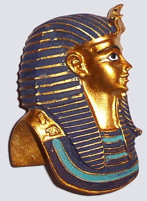 Tutankhamun Egyptian Fridge Magnet (d)