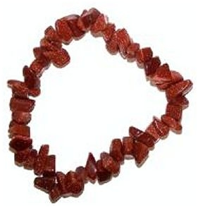 GOLDSTONE Chip Bracelet