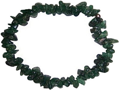 GREEN QUARTZ Chip Bracelet