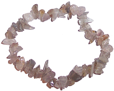 GREY AGATE Chip Bracelet