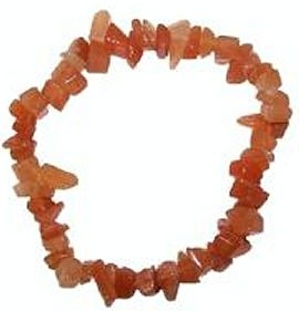 ORANGE AVENTURINE Chip Bracelet
