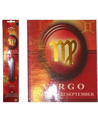 VIRGO Zodiac Incense Sticks (Time & Again)
