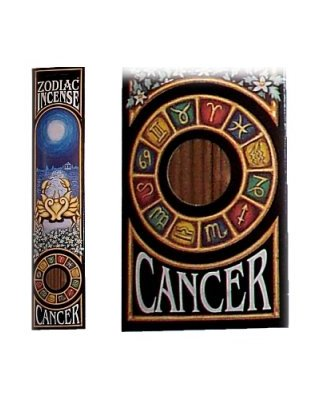 CANCER Zodiac Incense Sticks (Tree Of Life)