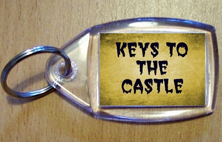 Keys To The Castle Keyring