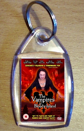 The Vampires Of Bloody Island Keyring