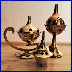 INCENSE BURNERS AND ACCESSORIES