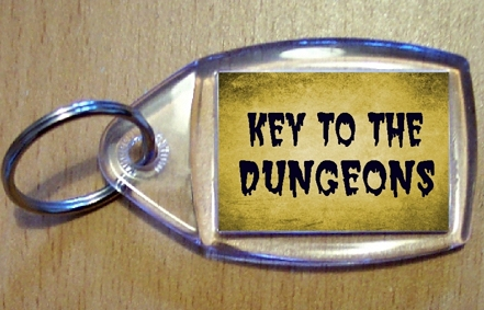 Key To The Dungeon Keyring