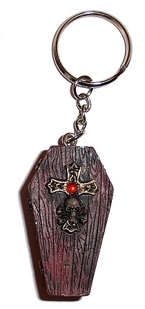 Coffin Keyring