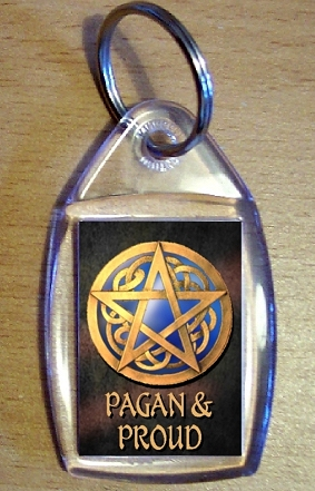 Pagan & Proud Keyring